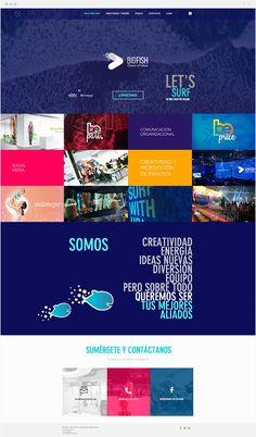 BIG FISH   Creative Agency Surf, Big Fish, How To Speak Spanish, Ideas, Creative, Design, Socialism, Events, Creativity