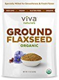 Viva Naturals Organic Ground Flaxseed is your next smoothie mix-in, all-natural fiber substitute and healthy culinary secret! Heart Protection - Flaxseed naturally contains heart-boosting lignans, powerful phenols that are clinically shown to...