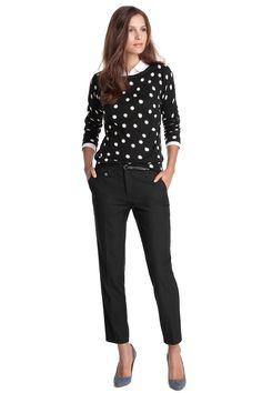 stretchy businessbroek CASUAL - Esprit Online-Shop