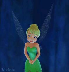 "Tinkerbell Pirate Fairy Disney GIF Tumblr | DisneyStrucked - ""Uhmmm, I'm Tinkerbell"""