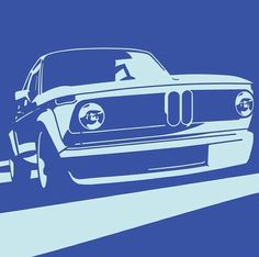 BMW 2002 Illustration