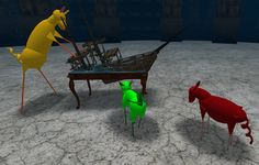 Rusted Development, 3D Art Installation in Second Life