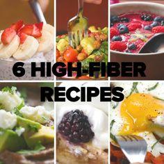 6 High-Fiber Recipes