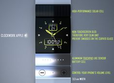 Clockwork Apple – Concept iWatch by Tolga Tuncer » Yanko Design