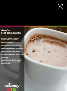Isagenix Hot Chocolate