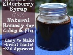 Homemade Elderberry Syrup Natural Remedy for Colds and Flu 365x274 How to Make Elderberry Syrup for Flu Prevention