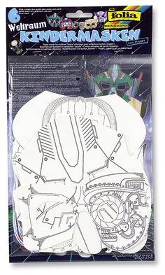 Unsere neuen Kindermasken in zwei Versionen können leicht selbst bemalt werden. Hier steht der Kreativität nichts im Wege! Mehr in unserem neuen Katalog unter http://www.folia.de/epaper/folia_neuheitenkatalog_2016/catalog_5920639/#/1