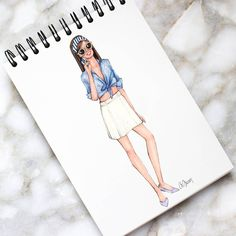 Style of Brush by Gizem Kazancıgil #fashionillustration gizem kazancigil
