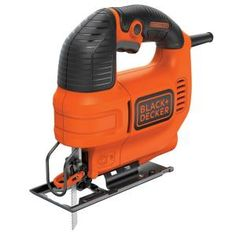 The BLACK+DECKER Amp Jig Saw features a powerful variable-speed motor that can generate up to SPM to help make fast cuts through wood, metal or plastic. This saw can make bevel cuts of up to Woodworking Jigsaw, Woodworking Projects, Woodworking Plans, Woodworking Classes, Custom Woodworking, Woodworking Equipment, Diy Projects, Woodworking Store, Woodworking Patterns