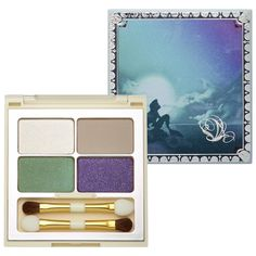 I must have this simply for the packaging!  Disney Reigning Beauties Ariel Collection Part of Your World Eyeshadow Palette