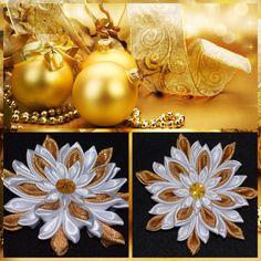 Handmade Girl's CHRISTMAS Hair Clip/Bow por PrettyBlossomBows