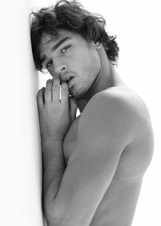 Εικόνα μέσω We Heart It #boy #cute #girly #hipster #love #MarlonTeixeira #model #photography #mancrushmonday
