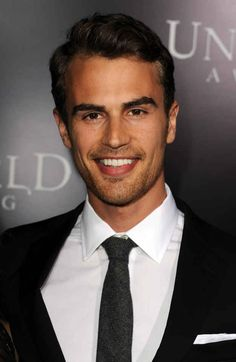Oh well hello there Theo James you beautiful creature you