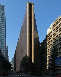 The former Industrial Bank of Japan, Tokyo, Tōgō Murano