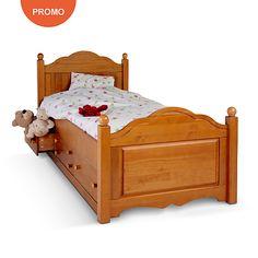 soldes lit camif lit rangement tom 90 x 190 cm soldes lit rangement et pin massif. Black Bedroom Furniture Sets. Home Design Ideas