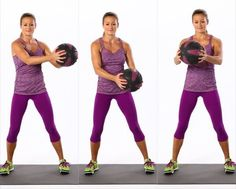 Medicine balls are great to help sculpt your abs