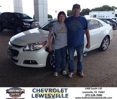 This is the 2nd Malibu purchased from Huffines Chevrolet in Lewisville, TX. Gotta give Henry Boyd credit! His patience was outstanding while showing me various Malibu 2015 cars. He was able to answer all my questions regarding the Malibu too. Although the first one I drove did not have the power, Henry found a Turbo Malibu 2015. Once I drove it I fell in love with the power and all the options that came with the car.  Brooke House Friday, June 12, 2015