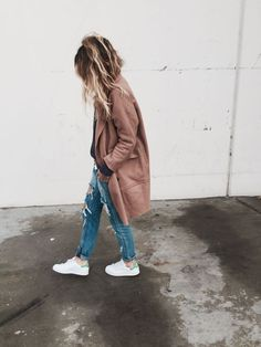 Distressed Denim - Just. Wear. Trainers. | Comfy Casuals | Street Style | Fashion | Footwear | Http://www.rockmystyle.co.uk/just Wear Trainers/
