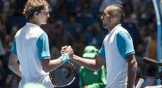 The Hopman Cup started this morning in the Perth Arena, and crowd could enjoy not one, but two home teams, as both Australia Green and Australia Gold . Hopman Cup, Home Team, Badminton, Crowd, Chef Jackets, Tennis, Perth, Australia, Green