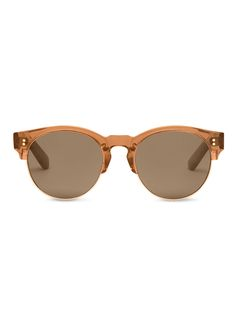853a8f3ab5e The Charlie Rae in Rose Crystal from  TOMSeyewear echos the modernists   style of the