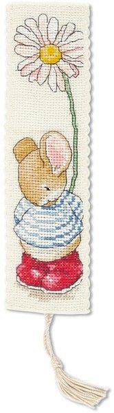Tom Bookmark - Country Companion Cross Stitch Kit