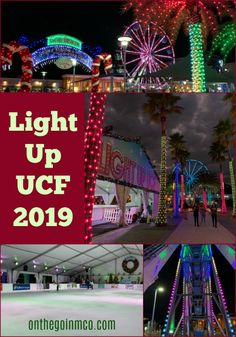 Light Up UCF is in it's 12th year, and is a fantastic way to get into the holiday spirit with light shows, ice skating, attractions, and so much more. The best part? It's free to attend!