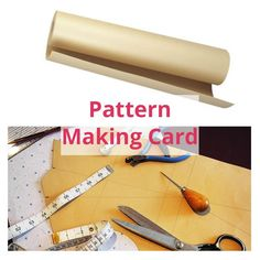 Pattern Template Card for Design Drawings Dressmaking 100cm wide - 5m Length