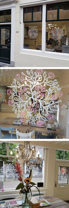 Pretty window drawings! Easy to do with chalk markers Christmas - dassbach küchen erfahrungen