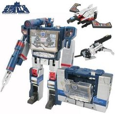 """Transformers g1 soundwave #decepticon 8"""" with tapes #machine action #figure toys,  View more on the LINK: http://www.zeppy.io/product/gb/2/172224993114/"""