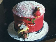 Photo - The Letter - Novelty 3D christmas cake for the Vera and family, Preston