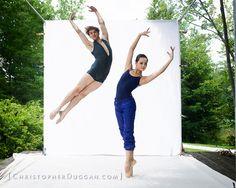Hong Kong Ballet in Christopher Duggan's Natural Light Studio at Jacob's Pillow Dance Festival