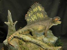 SWRiojas: Paleo Art Dimetrodon from Permian Era