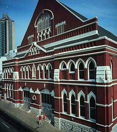 Ryman Auditorium - Grand Ole Opry - Nashville, Tennessee