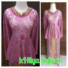 087 754 332 937 (XL) Baju atasan kebaya Hamil, Bahan Brukat Payet, Ukuran All Size, Warna By Request
