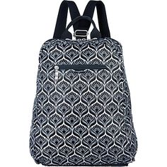 #LightweightPackableExpandableBags, #TravelAccessories - baggallini Fold Out Backpack Nouveau - baggallini Lightweight packable expandable bags