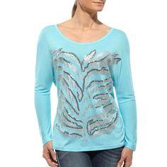Ariat Women's Sequin Zebra Long Sleeve Shirt
