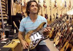 Dweezil Zappa Shows Frank Zappa's Jimi Hendrix Strat