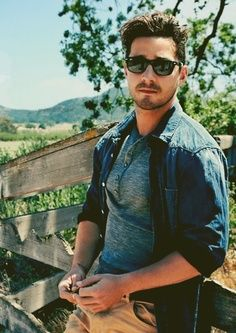 Outdoor Sunglasses for men........is that you Shia Labeouf!!??? O.o :D :p ;)
