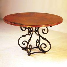 "Copper Instincts Broken ""S"" Dining Table"