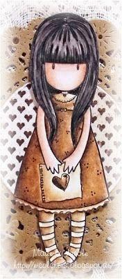 Gorjuss Girl I gave you my heart
