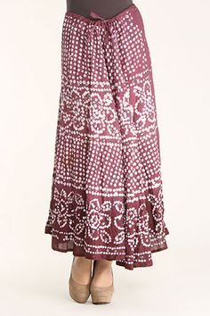 hippie skirt. would look great with a leotard!
