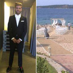 Casamento de Miguel Veloso e Paola Preziosi. #casamento #famosos #Portugal #MiguelVeloso