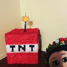 Minecraft Pinata, Cake, Desserts, Food, Tailgate Desserts, Deserts, Kuchen, Essen, Postres