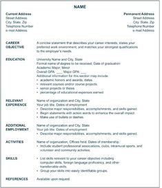 8bc90edba0be1863bb392b6e94078fe6 Sample American Resume Format on for high school students, job application,