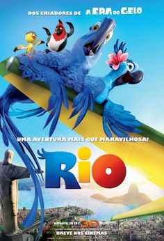 Rio!!!!!! it's so cute in the beginning of the movie when Blue is just a baby, and he starts dancing!!!