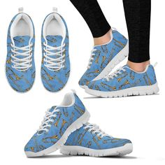 New in our shop! Womens Sneakers. Trombone Design Shoes. http://oompah.shop/products/womens-sneakers-trombone-design-shoes