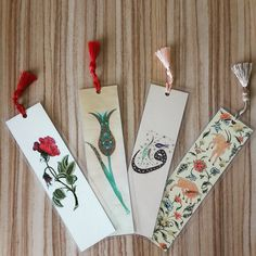 pp Bookmarks For Books, Paper Bookmarks, Watercolor Bookmarks, Watercolor Cards, Ramadan Crafts, Ramadan Decorations, Bookmark Printing, Broken Book, Book Page Crafts
