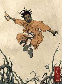 "samosdayoldteeth: ""ODB: The Drunken Master "" Nas Hip Hop, Arte Hip Hop, Hip Hop Art, Hip Hop And R&b, Drunken Master, Hip Hop Classics, Afro Samurai, Rapper Art, Black Cartoon"