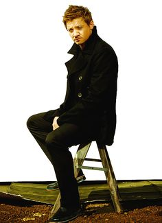 OH HEY Jeremy Renner. (aka Hot guy...more commonly known as hawk eye i guess)