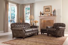 396 Traditional Button-Tufted Sofa with Nailhead Trim by Smith Brothers - Gill Brothers Furniture - Sofa Muncie, Anderson, Madison County, Delaware County, Indiana Wingback Chair, Tufted Sofa, Brothers Furniture, Formal Living Rooms, Nailhead Trim, Sofa Furniture, Family Room, Accent Chairs, Delaware County